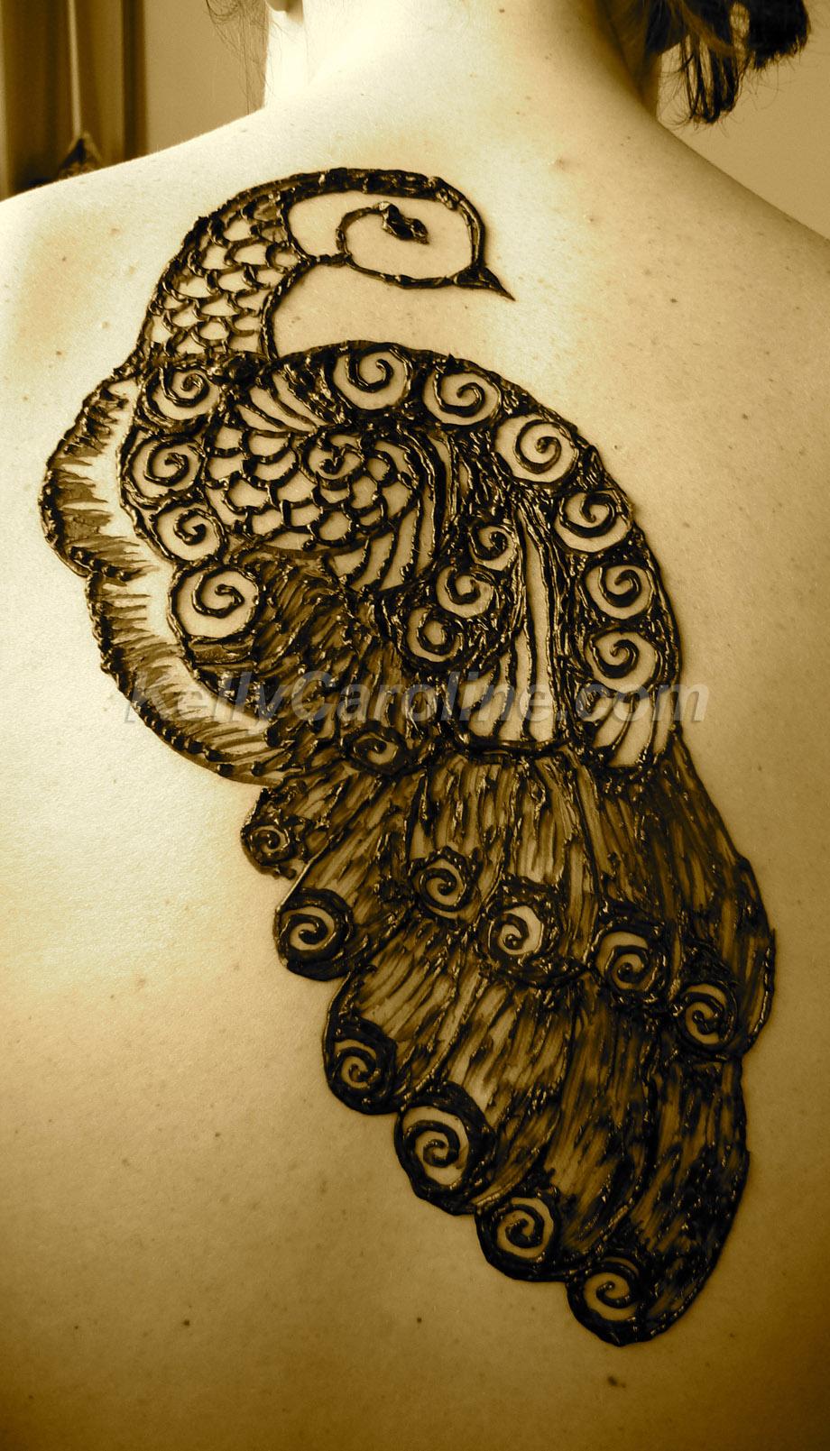 Peacock Henna Archives Kelly Caroline