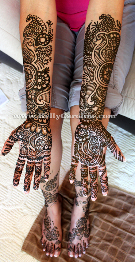 Henna Party Wedding : Indian bridal henna michigan mehndi party kelly caroline