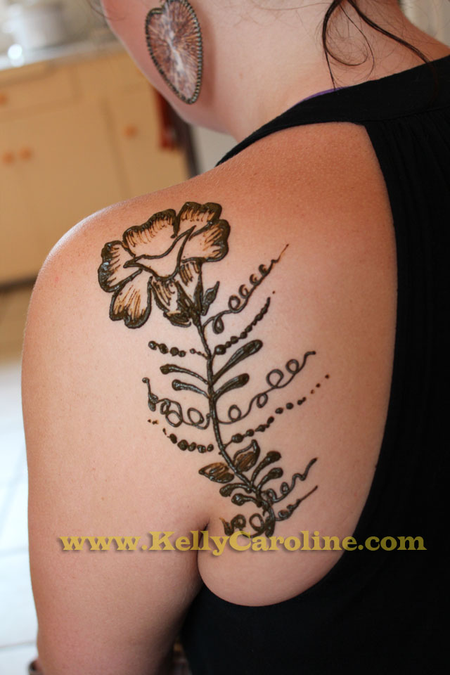 Henna Tattoos Michigan  Kelly Caroline