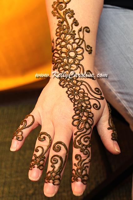 Mehndi Flower For Hand : Prenatal henna kelly caroline
