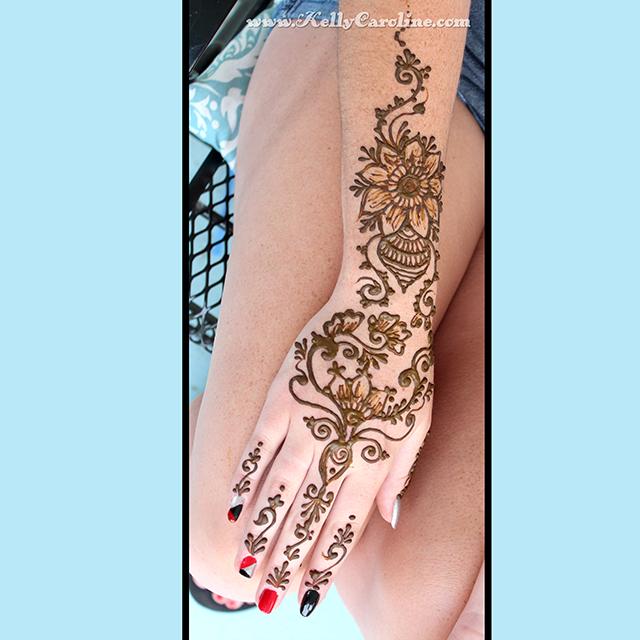 henna flower hand tattoo. Black Bedroom Furniture Sets. Home Design Ideas