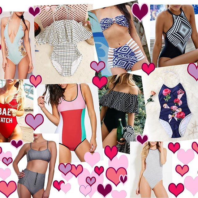 Okay - one 65 degree day and I'm already thinking bathing suits! Gamiss *love* Link in profile - they have the nicest suits at the craziest deals! . . . . #bathingsuits #bathingsuit #summer #vintage #sale #ruffles #vacation