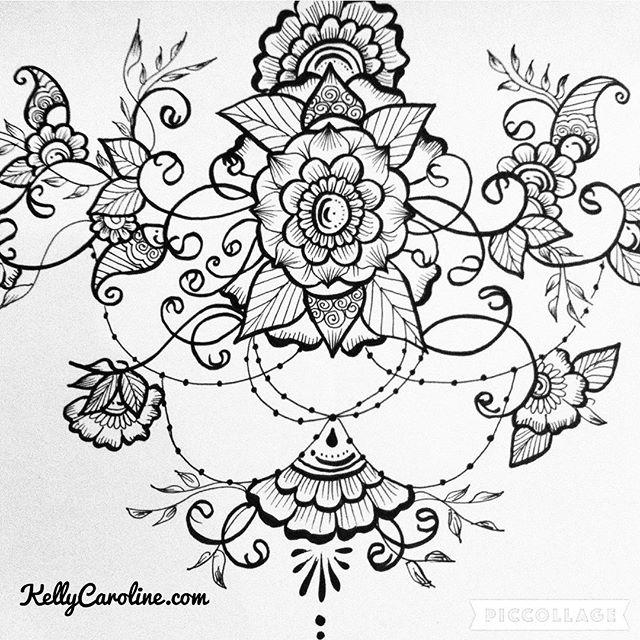 Black inked mandala with a fun jewelry beaded dangle #tattoodesign #henna #hennas #ypsi #ypsilanti #detroit #michigan #michiganartist #kellycaroline #mehndi #mehndidesign #tattoo #tattoos #tattoodesigns #drawing #mandala #flower #flowers #ink #yoga #yogi #sketch_daily #artstagram #instartlovers #art_spotlight #justartspiration #arts_help #art_worldly #blxckmandalas