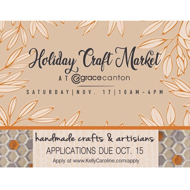 ARTISTS & CRAFTERS::: very excited to share the application form for the Holiday Craft Market Nov. 17th - as a non profit is hosting, the booth spaces are completely FREE! Please share and tag your crafting friends- this is sure to be a great market for everyone . Link in Profile . . . #handmadeinMichigan #michigan #michiganartists #craftmarket #ypsilanti #ferndale #annarbor #ypsi #a2 #detroit #michiganawesome #plymouth #craft #makers #gracecanton #graceannarbor