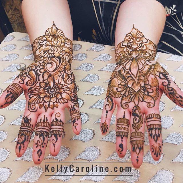 Bridal henna for a lovely bride in the studio today! Kelly@kellycaroline.com #henna #hennas #hennaartist #kellycaroline #michigan #michiganartist #dearborn #southasianbride #southasianwedding #indianwedding #desi #weddinghenna #dearbornheights #mehndi #mehndidesign #canton #tattoos #ink #hennadesign #hennatattoo #hennatattoos #flowers #yoga #yogi #mandala #desiwedding #annarbor #annarbormichigan #mehndi