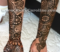 bridal henna on hands