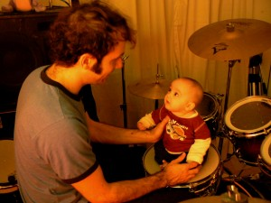 Nathan and Judah, goodman, drums, snare, love