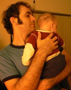 Nathan and Judah Goodman, love, drums, dad, son
