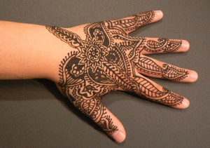 Henna Hand, mehndi, bridal