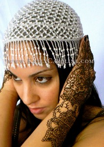 Natalia headdress, mehndi hand designs, michigan, henna artist