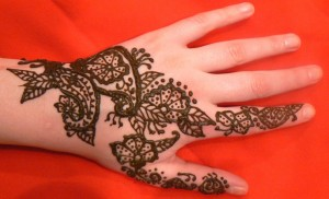 hand, paisley, flowers, henna, design