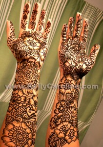 bridal, henna artist, mehndi, michigan, indian wedding, arms, floral, paisley