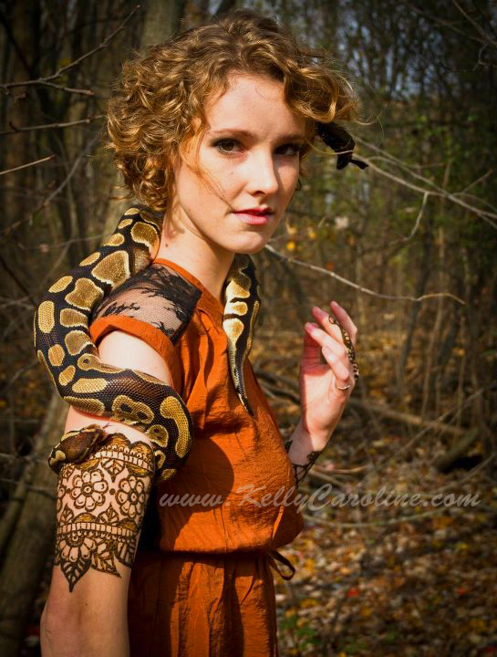 karin, outdoor, henna, snake, arm