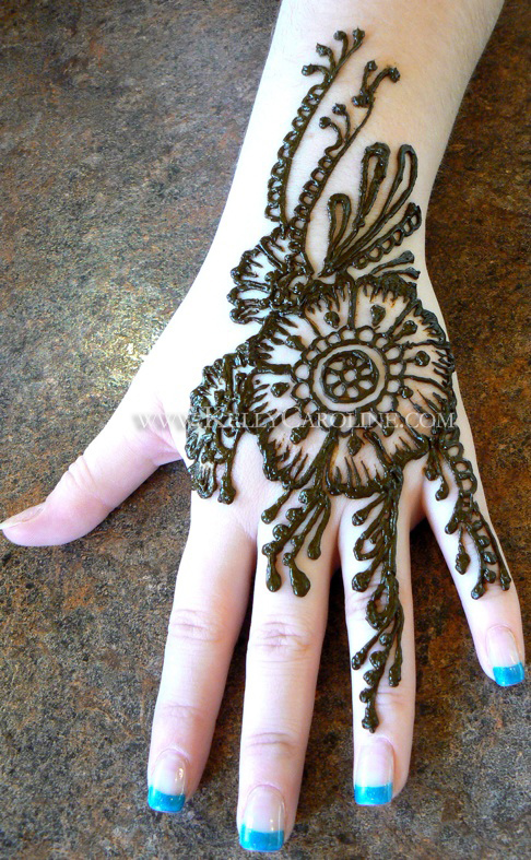 henna tattoos for hands kelly caroline. Black Bedroom Furniture Sets. Home Design Ideas