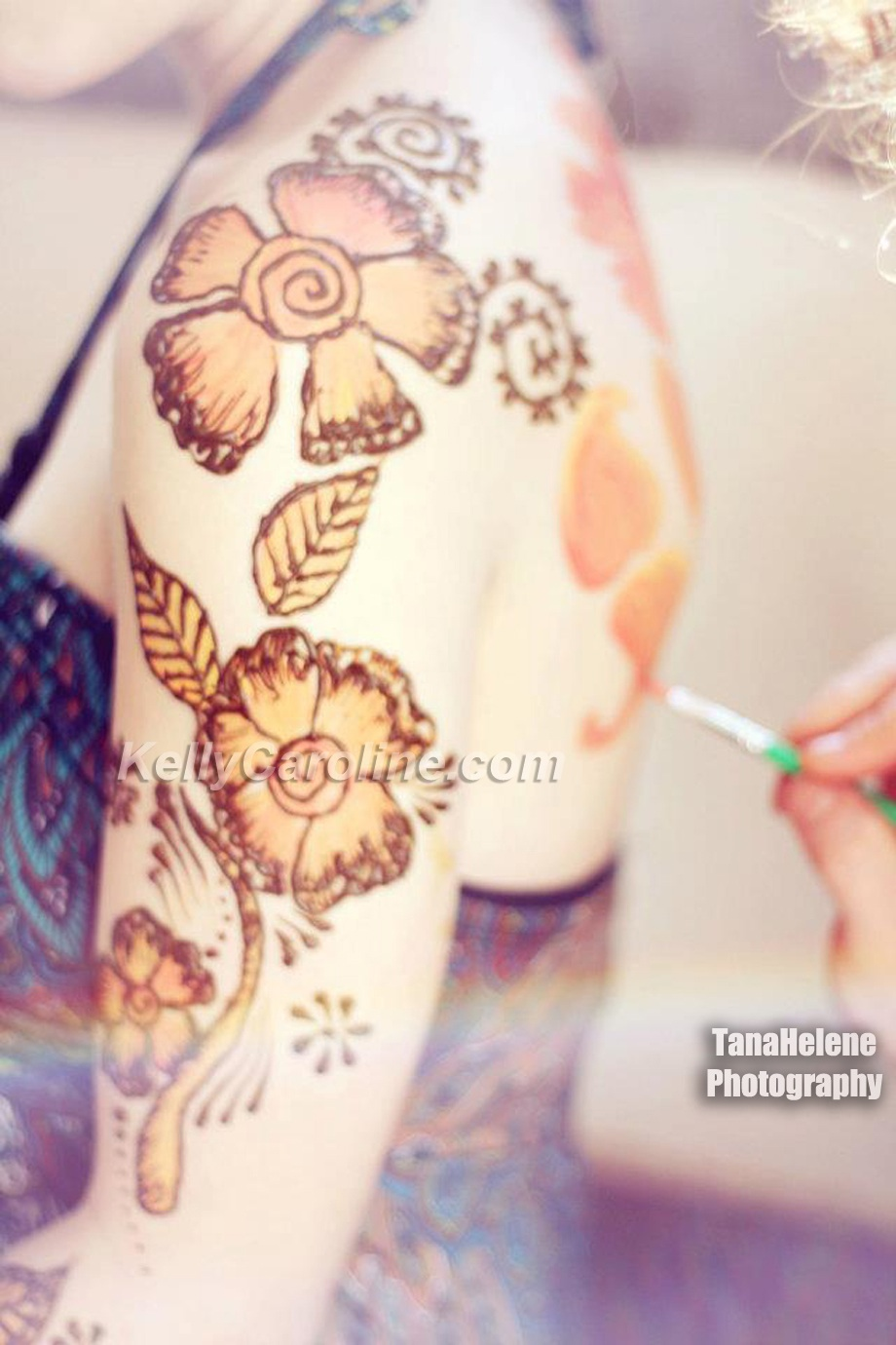 henna tattoo artist kelly caroline