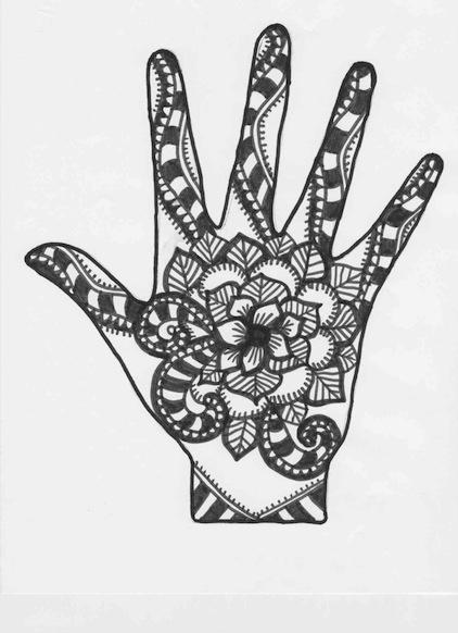 Mehndi Hands Powerpoint : Henna patterns ks makedes