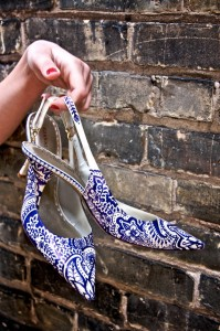 henna wedding heels, shoes, hand painted