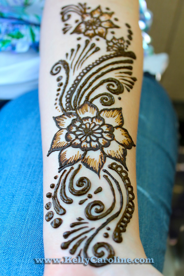 Henna Flower Designs: Michigan Henna Artist