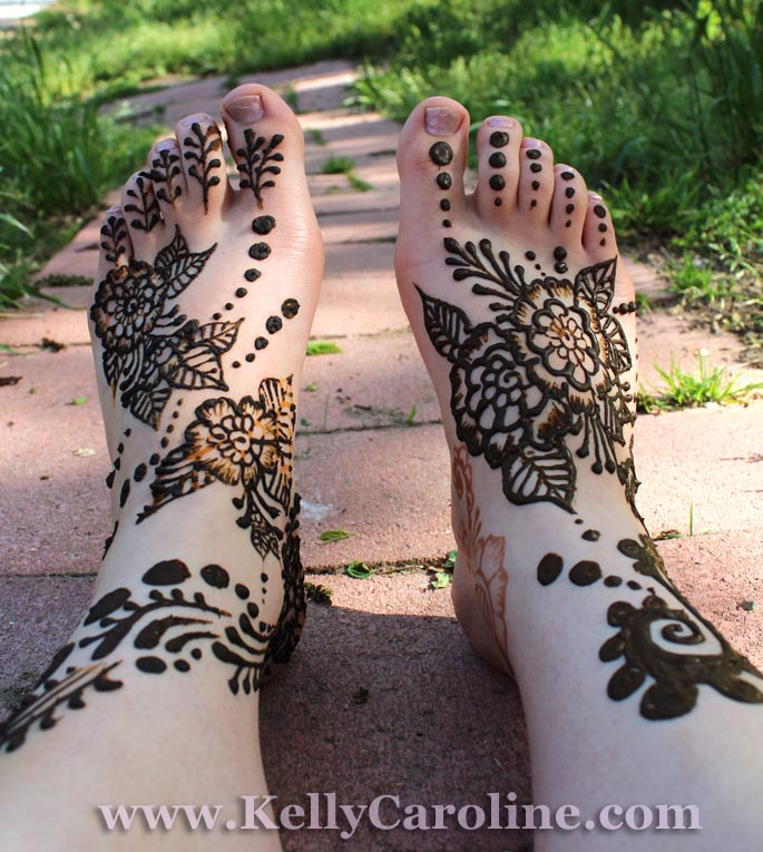 bridal henna, feet design, canton, michigan
