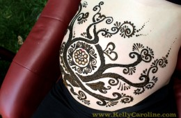 Henna Party Michigan – Baby Belly