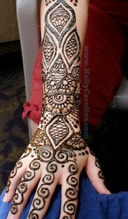 Michigan Henna Tattoo – Arms and Hands