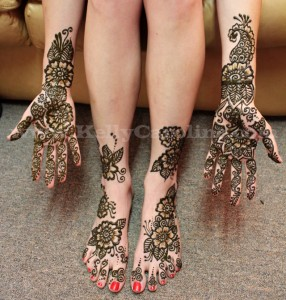 bridal henna, hands and feet, mehndi, wedding, henna tattoo on the feet , kelly caroline, michigan henna tattoo