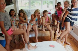 Girly Birthday Henna Party