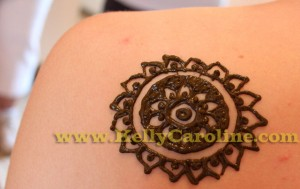 henna tattoo, mandala, michigan graduation party