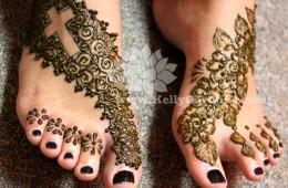 Foot Henna Tattoos