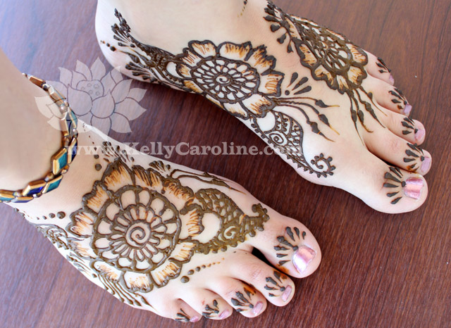 henna tattoo, henna tattoo on feet