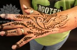 Bird Design Henna