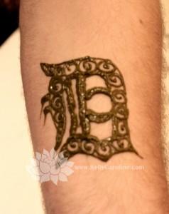 Detroit English D henna
