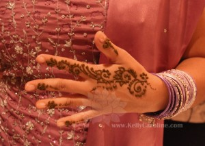 Indian wedding henna design