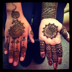 Indian henna for baby shower, henna on hands, baby shower, henna for pregnancy