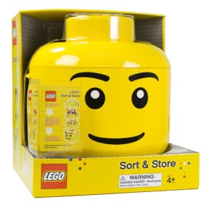lego sorting head, lego birthday party, lego themed party