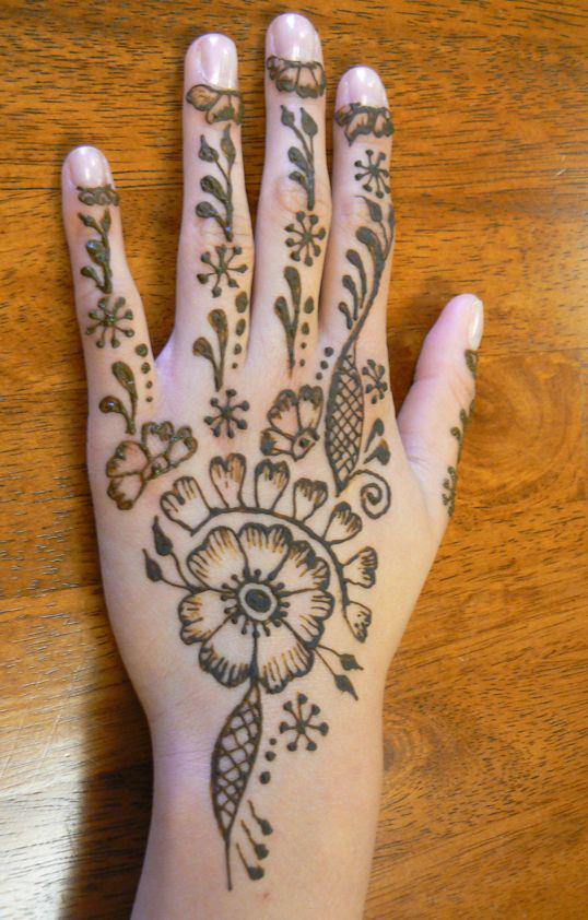 henna designs for hand ebook