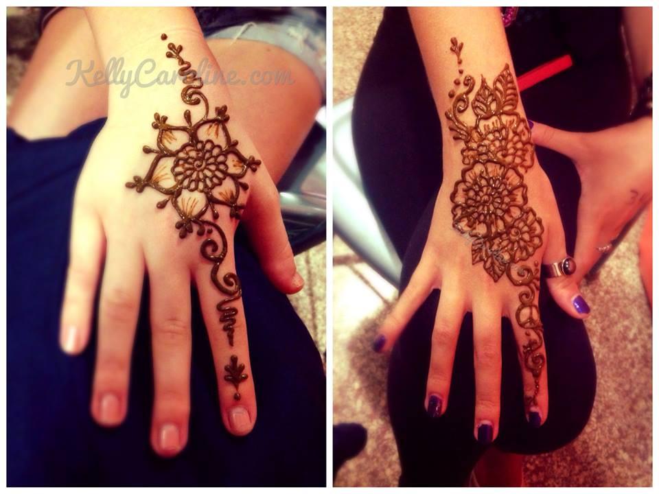 Henna Designs Right Hand | makedes.com