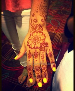 Henna Parties and Party Designs
