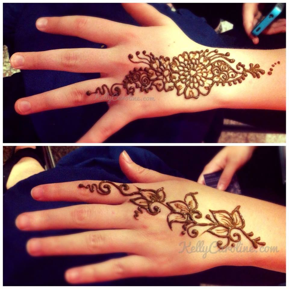 simple henna design Archives - Page 5 of 9 - Kelly Caroline Henna ...