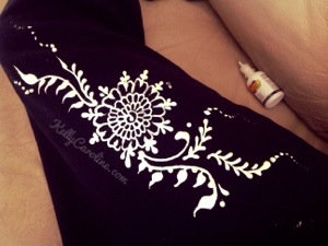 Fabric Paint and Henna