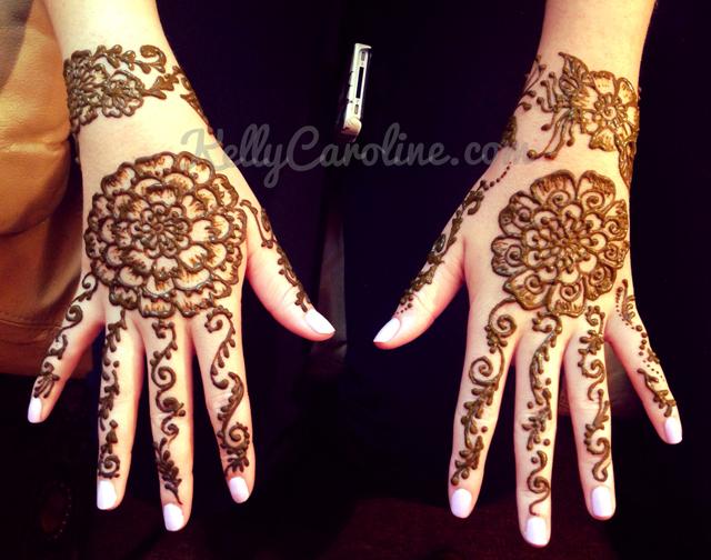 mandala henna, hand design, henna gloves, henna flowers, henna artist michigan, kelly caroline, kelly henna