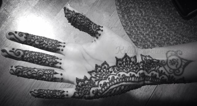 palm henna, wedding henna, indian fusion wedding