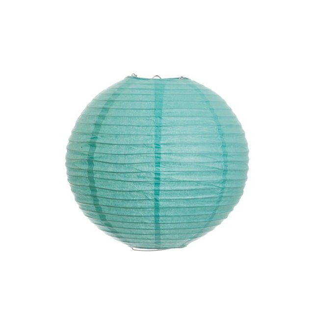 tiffany blue Chinese lantern