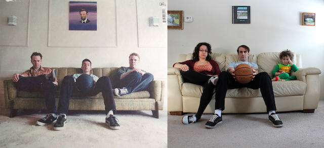 Jawbreaker family photo, band picture, Dear You poster