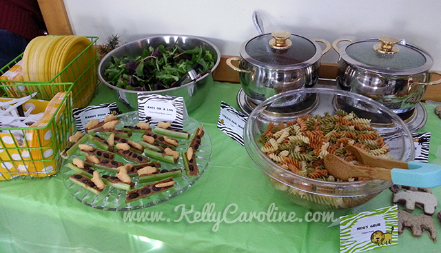 vegetarian kid party food ideas