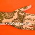 bridal henna hand