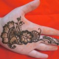 flower and paisley hand henna