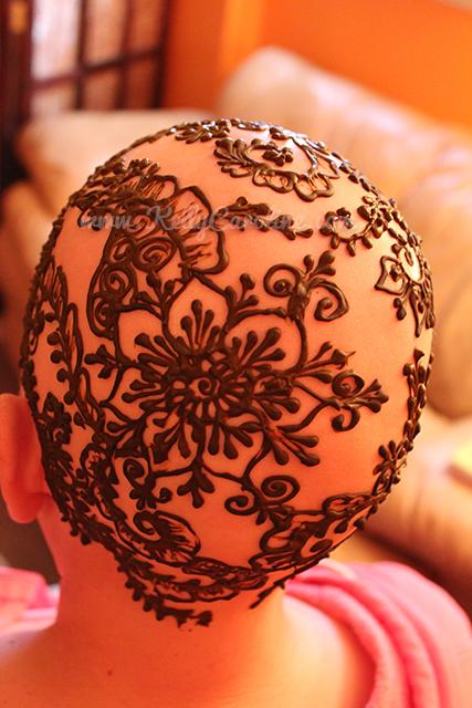 Henna Crown Designs  Henna On The Head  Kelly Caroline