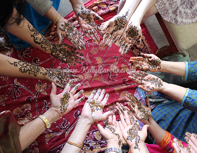 ann arbor, michigan, henna party, mehndi, artist, kelly caroline