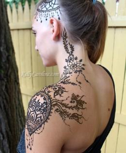 Henna Crown Designs